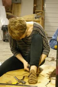 Ghillie Brogue Workshop, March 2012