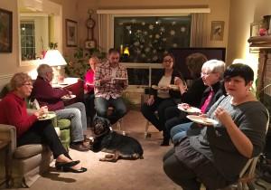 Potluck and Portfolio Sharing, January 2017